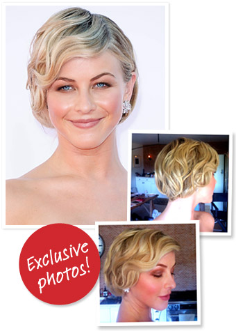 Exclusive: How to Get Julianne Hough's Emmys 2012 Finger Wave Hairstyle