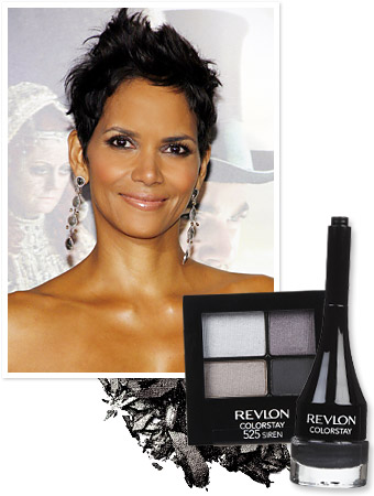 Halle Berry's Smoky Eye How-To: Try It This Weekend!