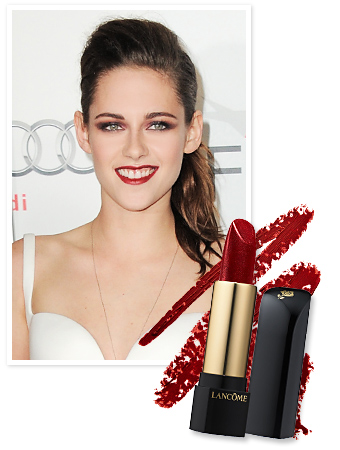 Found It! Kristen Stewart's Deep Red Lipstick