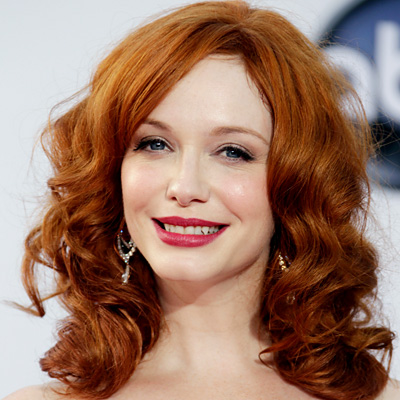Christina Hendricks's True Red Lipstick
