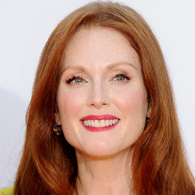 Julianne Moore's Pink Flush