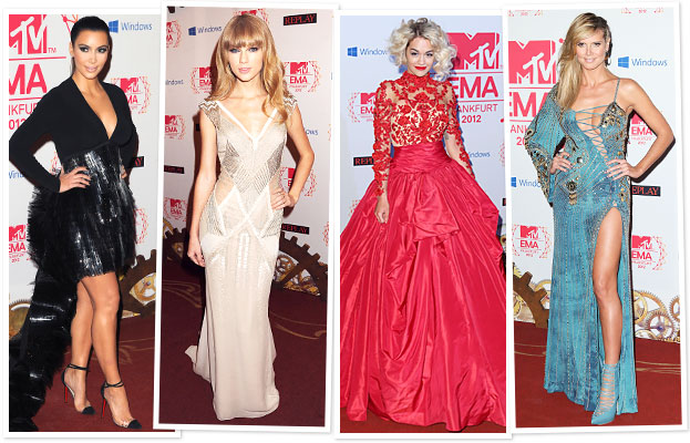 MTV EMA 2012 Fashion: See the Photos!