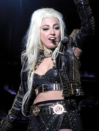 Lady Gaga's Born This Way Ball Tour Outfits: All by Versace
