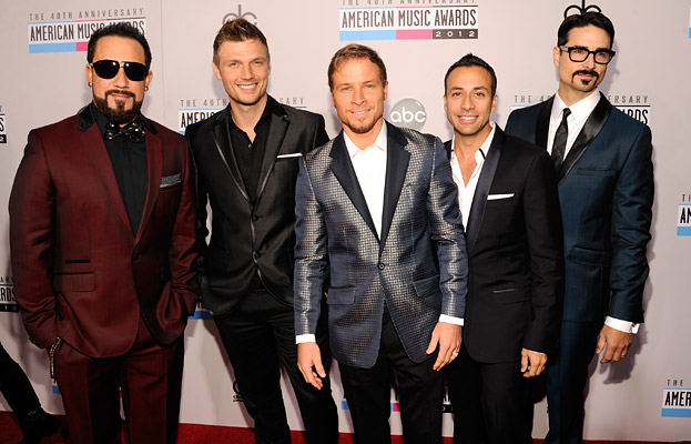 AMAs 2012: Backstreet Boys Consult Each Other for Their Outfits