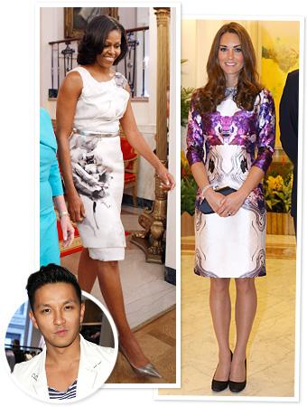 Prabal Gurung Michelle Obama Kate Middleton