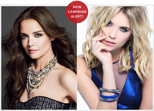 Celebrity Campaign Models 2013: Katie Holmes, Ashley Benson, and More!
