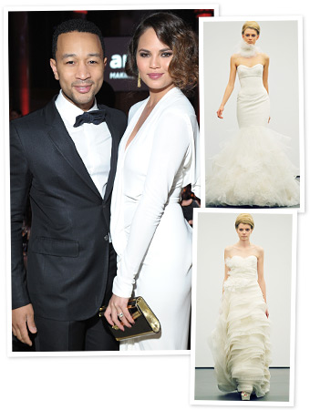 Chrissy Teigen Wedding