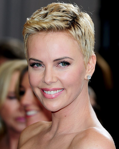 Charlize Theron - Short Hairstyles
