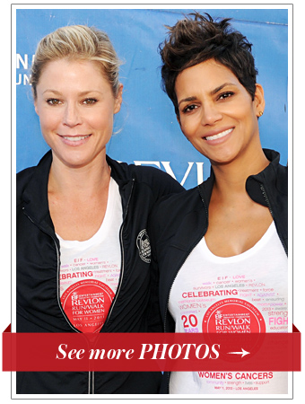 Julie Bowen and Halle Berry Support Cancer Research in Los Angeles