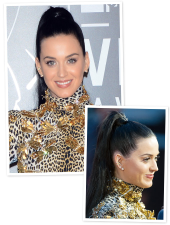 The Details Behind Katy Perry's High Ponytail at the VMAs