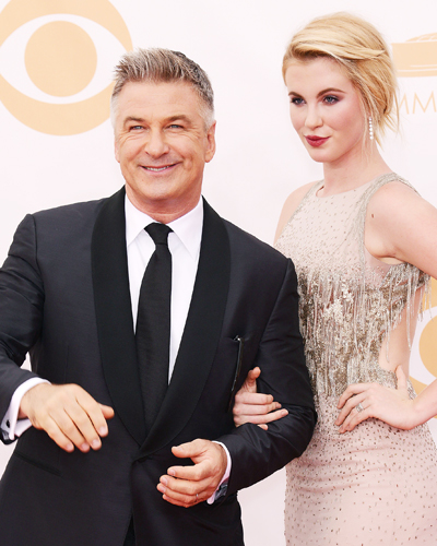 Alec and Ireland Baldwin