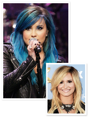 Demi Lovato Dyes Her Hair Blue, <em>and</em> Has an Exciting Launch On the Way!