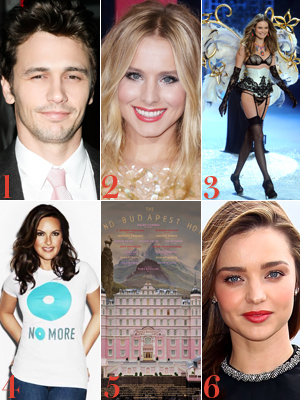 Britney Spears Wants James Franco To Play Christian Grey, Kristen Bell and Dax Shepard Got Married and More