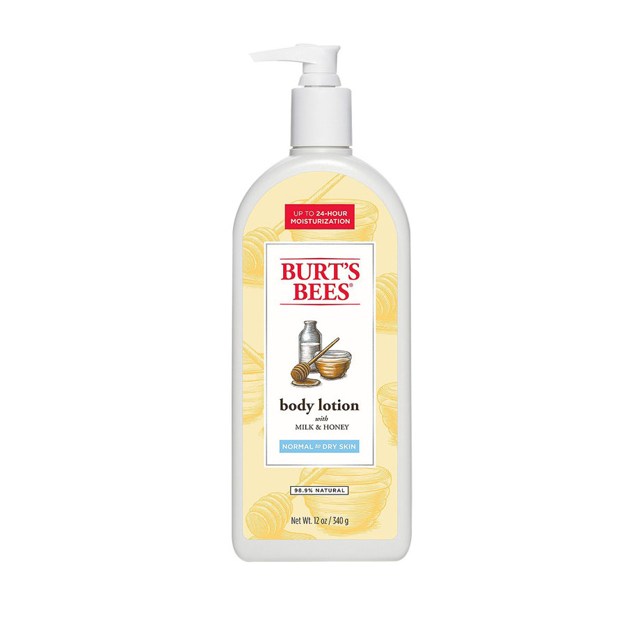 Burt's Bees Milk and Honey Body Lotion