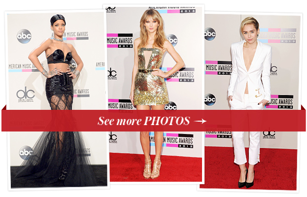 Relive the Best Fashion Moments from Last Night's 2013 American Music Awards!