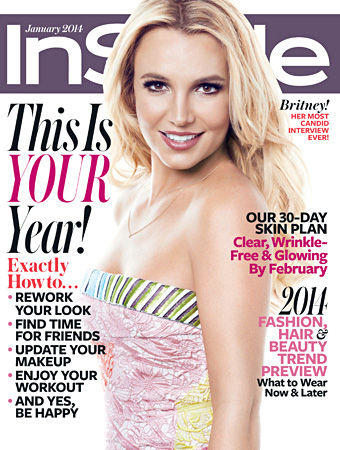 Surprise! Britney Spears Revealed She Is <em>InStyle's</em> January Cover Girl!