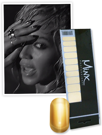 "Found It! Beyonce's Shiny Nail Wraps From Her ""Drunk in Love"" Music Video"