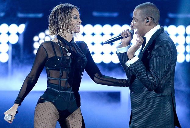 The Hottest Performance Of the Night Goes To Beyonce and Jay Z