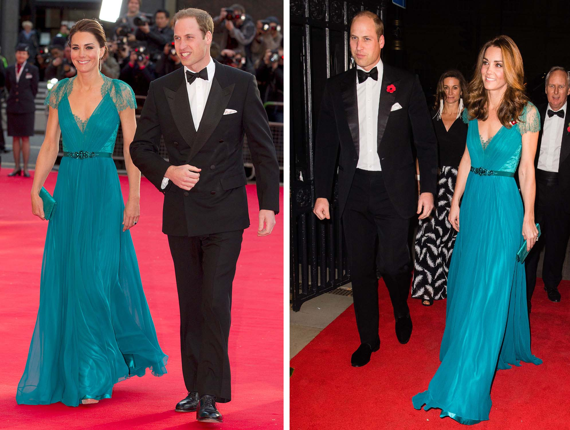 14 of Kate Middleton's Best Fashion Repeats