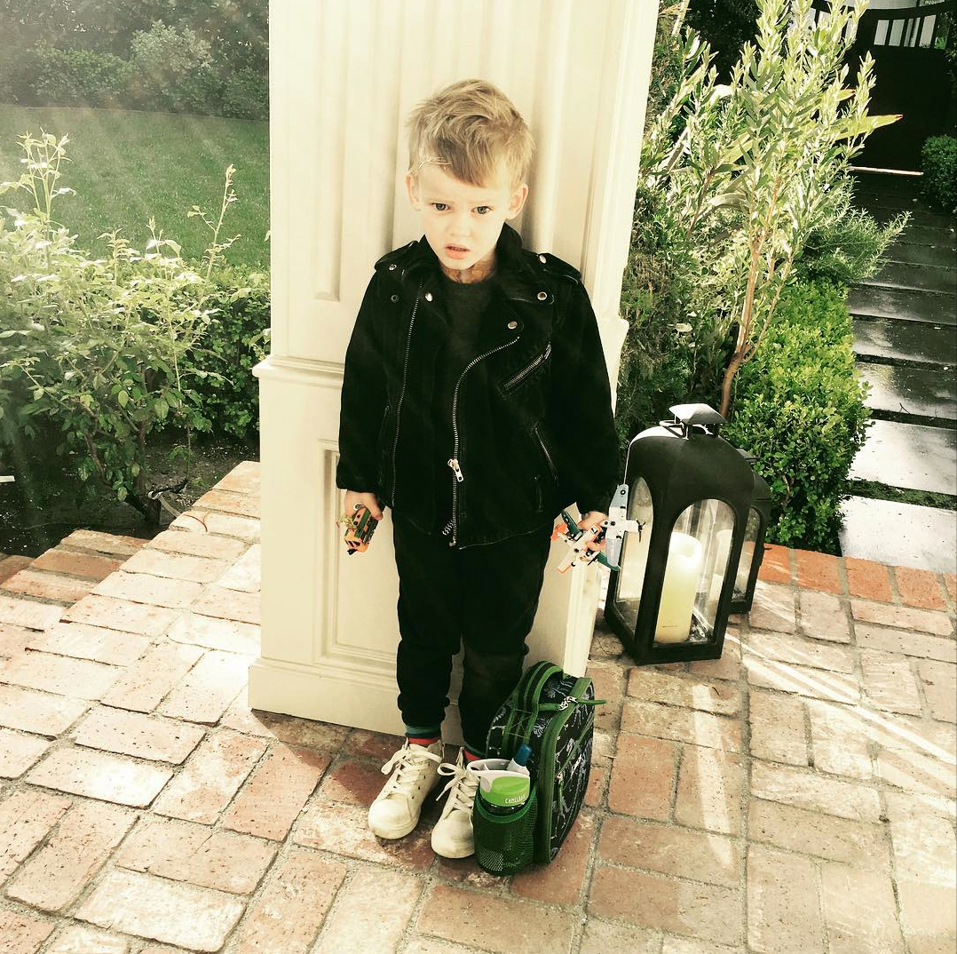 Hilary Duff's son, Luca