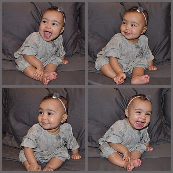 Kim Kardashian's North West