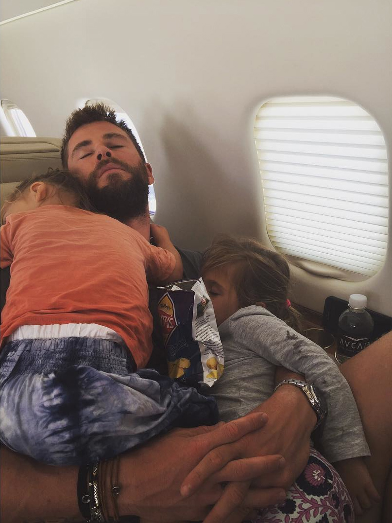 Chris Hemsworth's kids