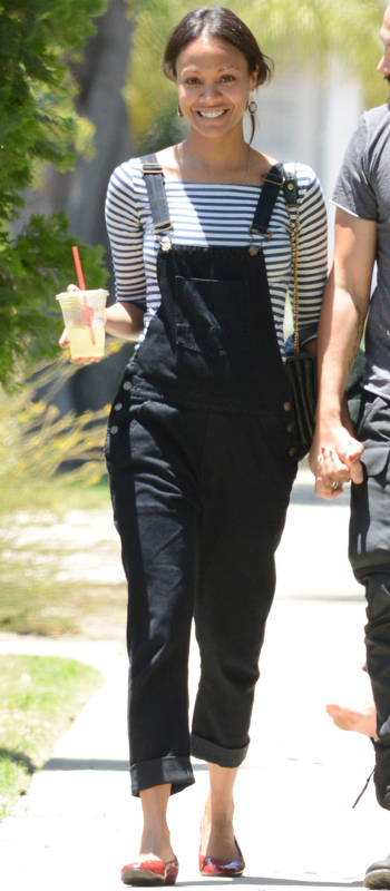How Celebrities Wear Overalls Like Grown Ups Instyle Com