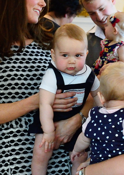 Prince George Makes a Friend