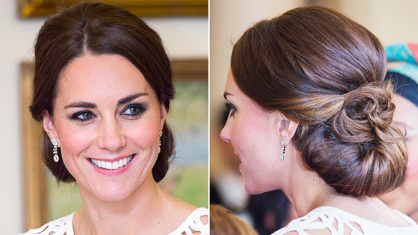 Kate Middleton Wears a Wedding-Worthy Updo For Her Final Night in Australia
