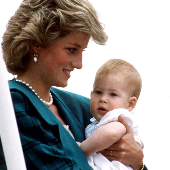 Prince Harry, Princess Diana