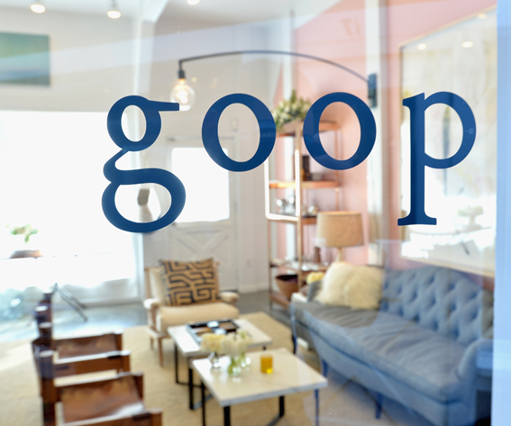 Goop pop-up shop in LA