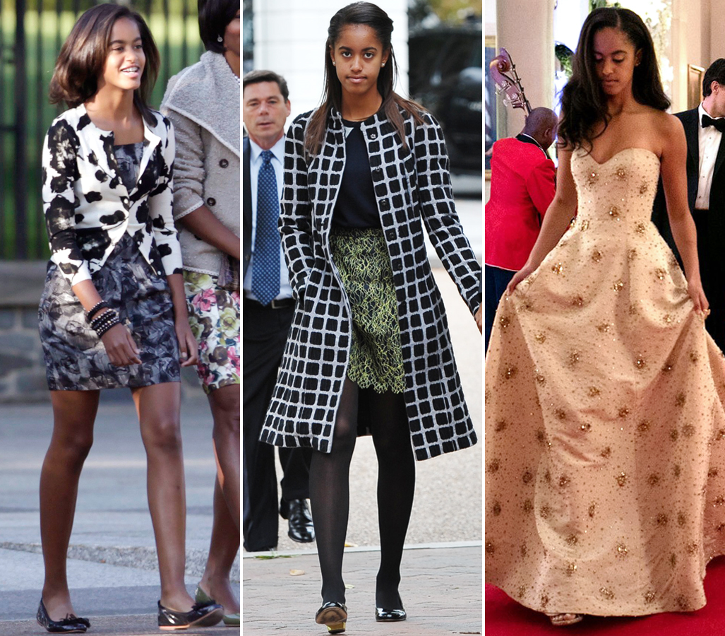 It's Malia Obama's 18th Birthday! See Her Incredible Style Evolution