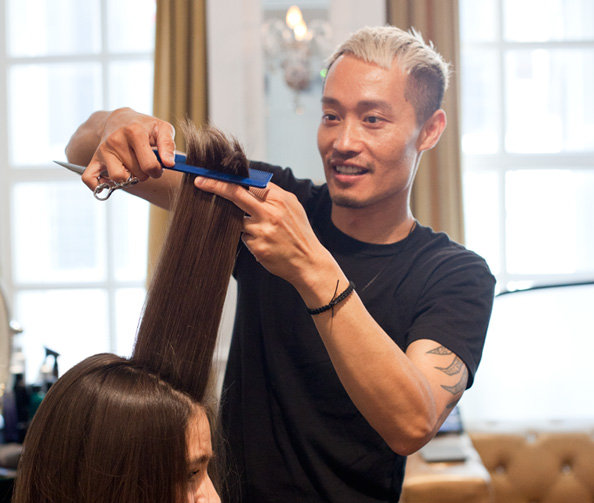 Can You <em>Really</em> Get Rid of Split Ends Without Going Shorter? Anh Co Tran Tells Us Exactly How