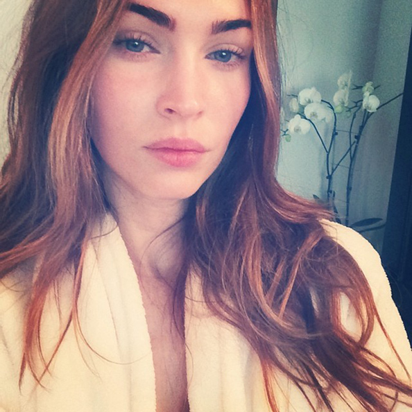 Megan Fox Joins Instagram and Shares Makeup-Free Selfie