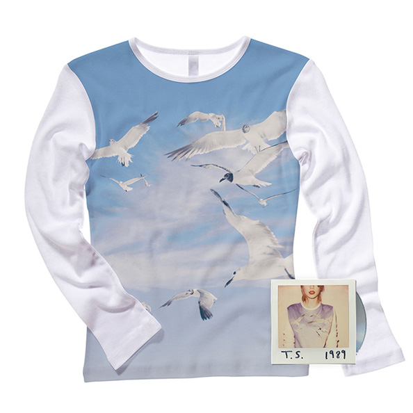 Get the Adorable Seagull Shirt Taylor Swift Wears on the Cover of Her New Album!