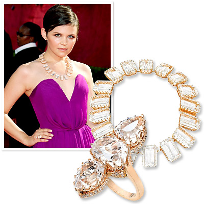 Emmys Jewelry - Ginnifer Goodwin - Ivanka Trump Collection