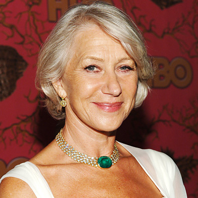 Emmys Jewelry - Helen Mirren - Fred Leighton