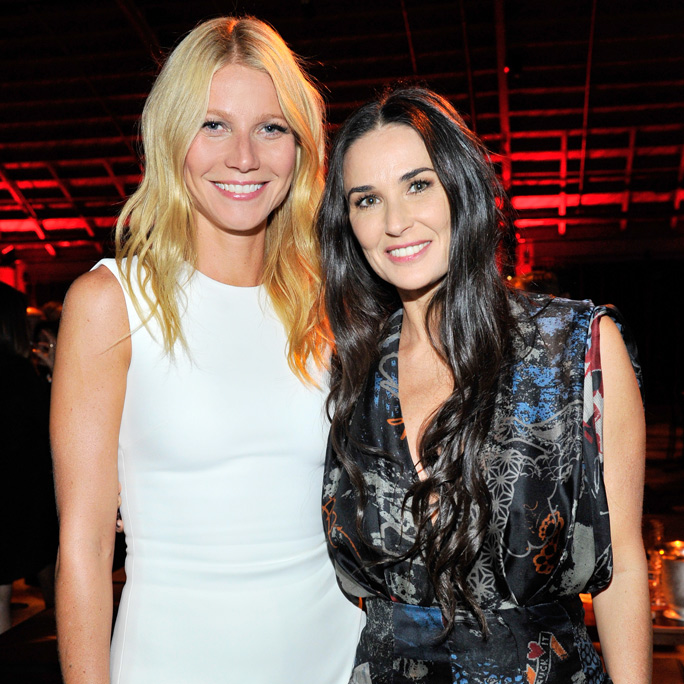 Gwyneth Paltrow, Demi Moore, and Chloë Grace Moretz Celebrate a Great Cause at the PSLA Autumn Party