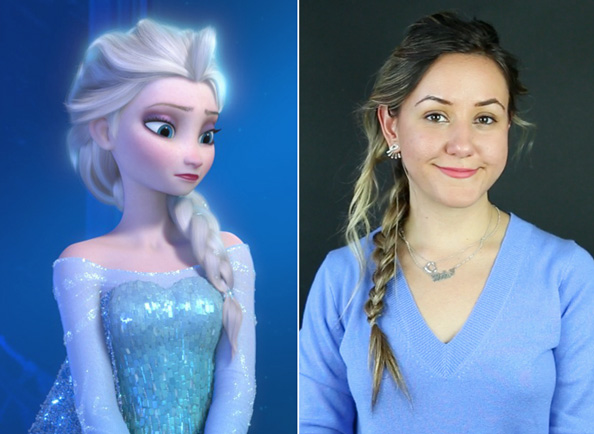 Let It Go! See Our GIF Guide to Creating a <em>Frozen</em>-Inspired Queen Elsa Braid