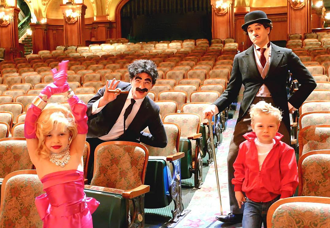 <p>Neil Patrick Harris and family</p>