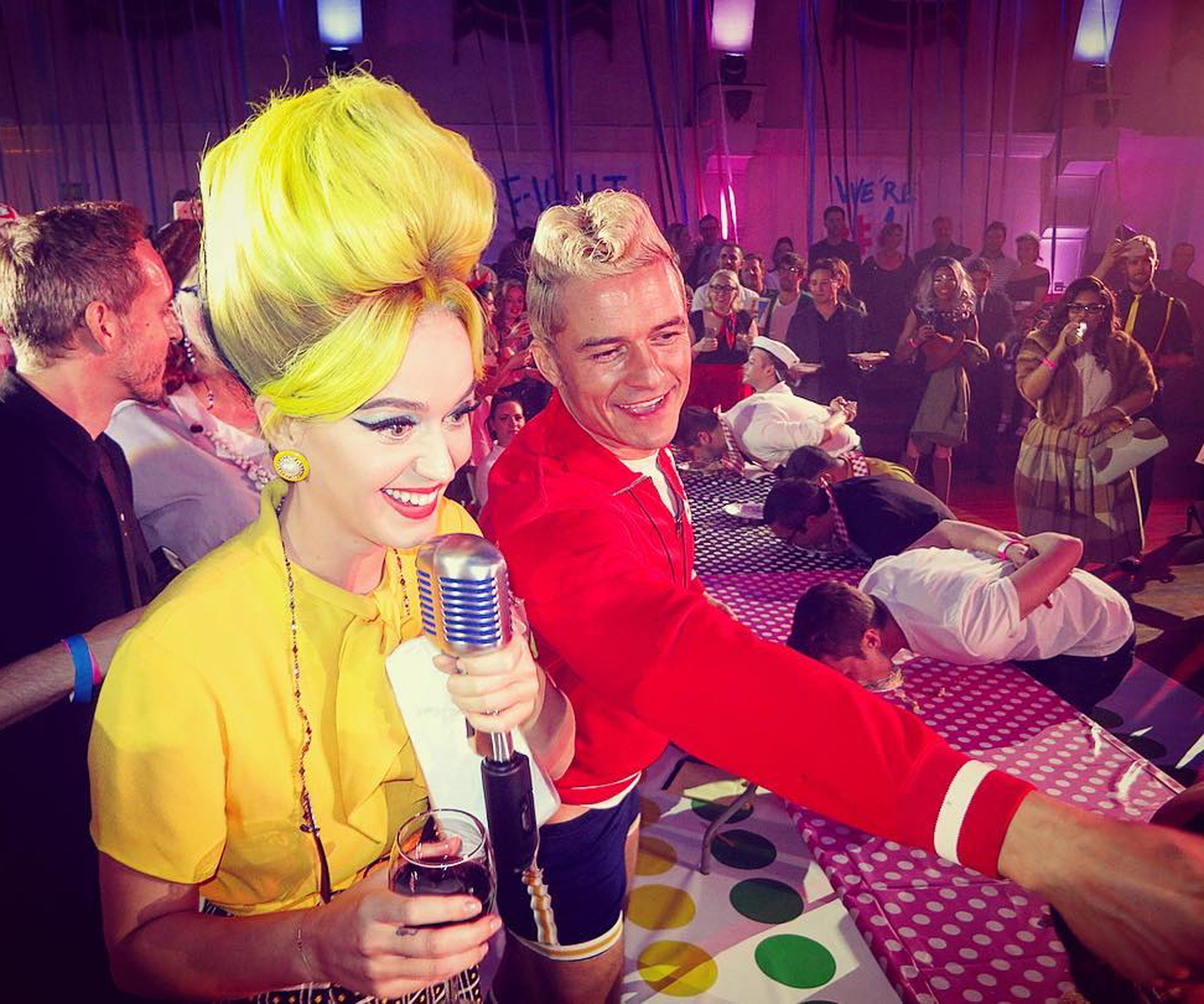u003cpu003eKaty Perry and Orlando ...  sc 1 st  InStyle & The Best Celebrity Halloween Costumes | InStyle.com