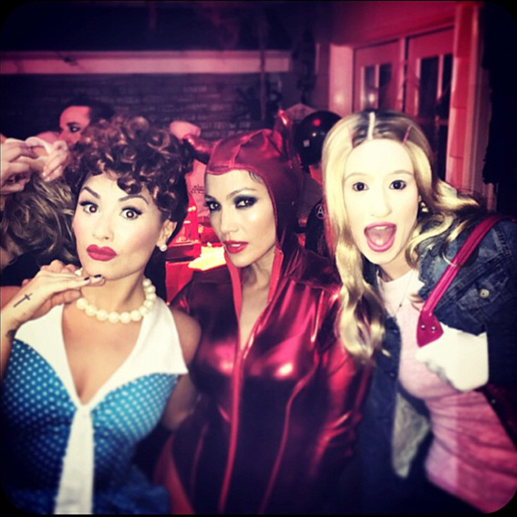 Celebrity Halloween Photos