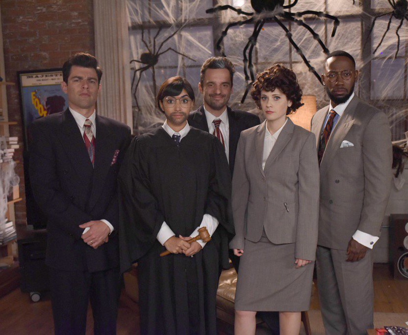 <p><em>New Girl </em>Cast</p>