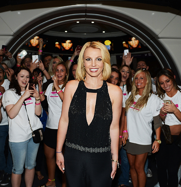 Britney Spears Receives the Key to Las Vegas On Britney Day!