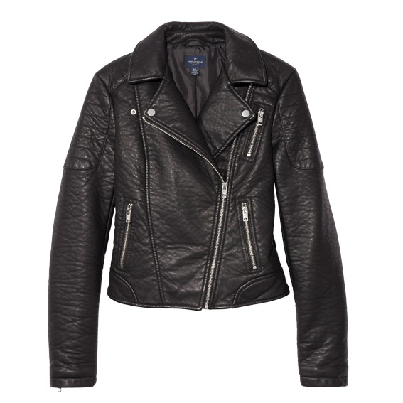American Eagle Outfitters Vegan Leather Jacket