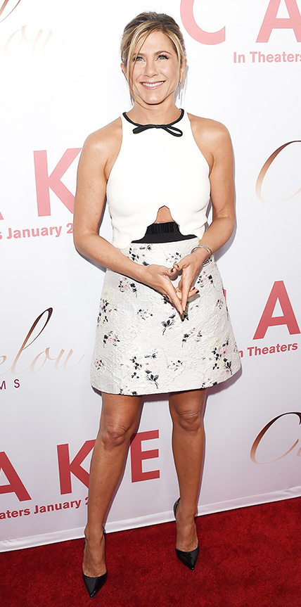 14 Times Jennifer Aniston Chose Not to Wear Her Signature LBD ...