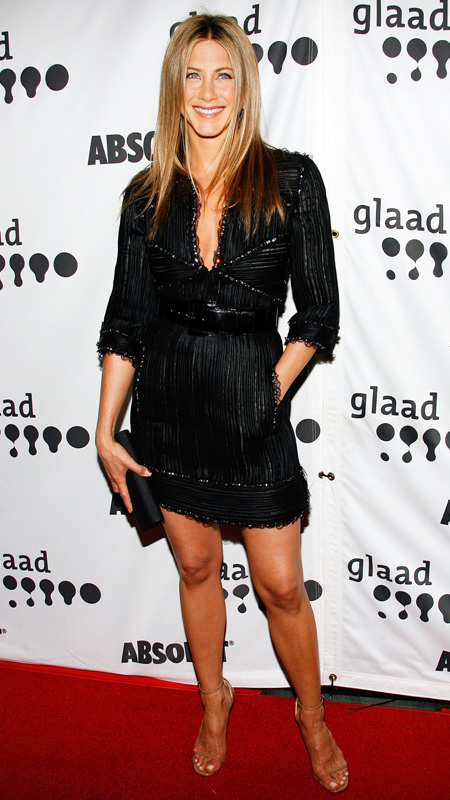 Jennifer Aniston little black dress