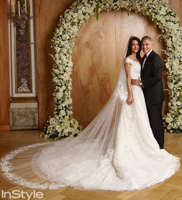 From George and Amal to Kim and Kanye, Re-Live the Most Stylish Celebrity Weddings of 2014
