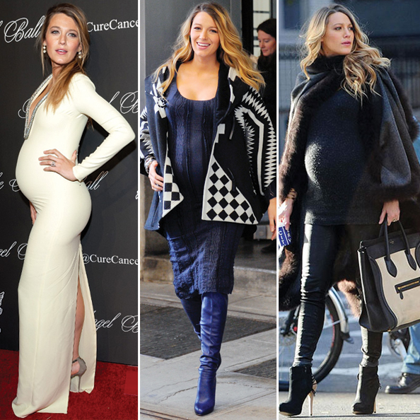 Blake Lively's Maternity Style