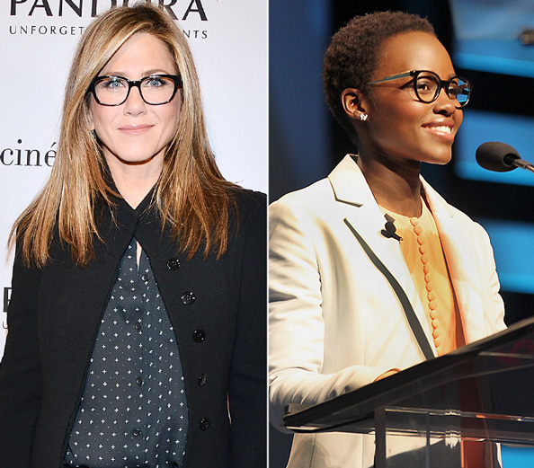 Black Frame Glasses Celebrities Wear : Stylish Celebrities Wearing Glasses InStyle.com